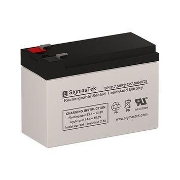 SigmasTek SP12-7.5HR F2 Battery Replacement (12V 7.5AH SLA Battery )