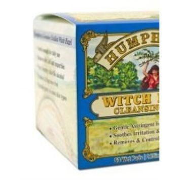 Humphrey's Homeopathic Remedy Witch Hazel Cleansing Pads -- 60 Pads
