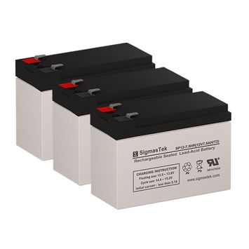 Tripp Lite OMNI750ISO Replacement Batteries (12V 7AH ) (Set of 3)