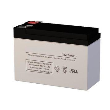 Leoch Battery LP12-7.5 F1 Battery Replacement (12V 7 AH SLA Battery)