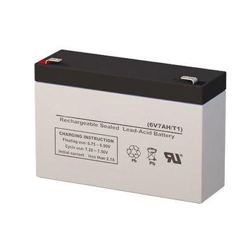 Long Way LW-3FM7 Battery Replacement (6V 7AH SLA Battery)