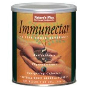 Nature's Plus Immunectar Natural Honey Granola -- 1.02 lbs