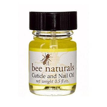 Best All Natural Cuticle Oil - Bee Naturals Nail Oil Helps Cracked Nails and Rigid Cuticles - Perfect Vitamin E Enriched Treatment for Moisture, Softness...