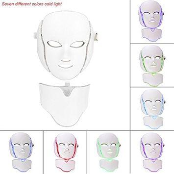 Kapmore Light Beauty Mask Led Face Mask 7 Colors Light Rejuvenation Mask Electric Device Mask for Skin Care