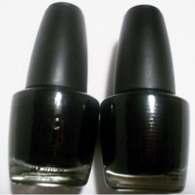LA. Colors Nail Polish Lacquer Black Velvet (2) 0.44 FL. OZ.