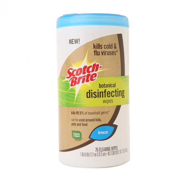Scotch-Brite Botanical Disinfecting Wipes