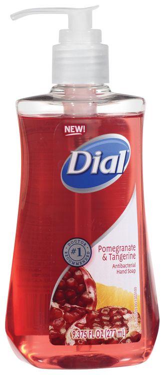 Dial® Liquid Pomegranate & Tangerine Antibacterial Hand Soap