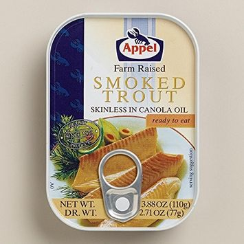 Appel - Smoked Trout (Skinless in Canola Oil) 3.88 Oz.