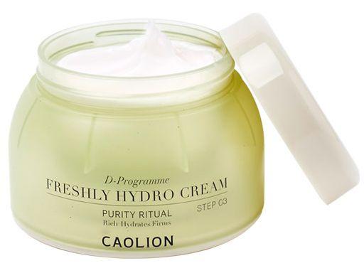 Caolion Freshly Hydro Cream Step 3
