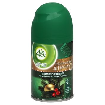 Reckitt Benckiser Inc. Freshmatic Ultra Automatic Spray Refill, Homemade Holiday, Trimming the Tree, 6.17 oz (175 g)