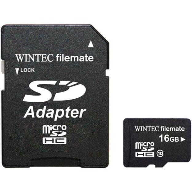 Wintec FileMate Mobile Professional 16GB microSDHC Memory Card