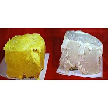 1lb RAW Unrefined Shea Butter & 1lb RAW Cocoa Butter Combo by smellgood