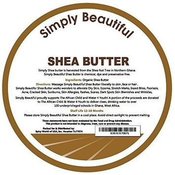 SmellGoo - Raw Unrefined Ivory Shea butter 32 oz