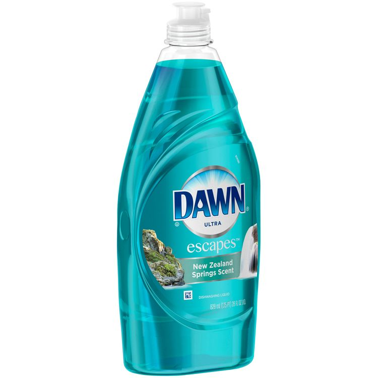 Dawn® Ultra Escapes™ New Zealand Springs Scent Dishwashing Liquid