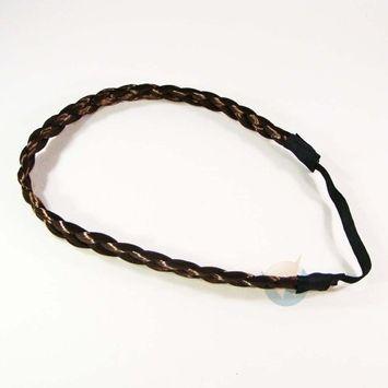 Hair Braids Braided Headband Fashion Plaits Hairband Bands - Light Brown