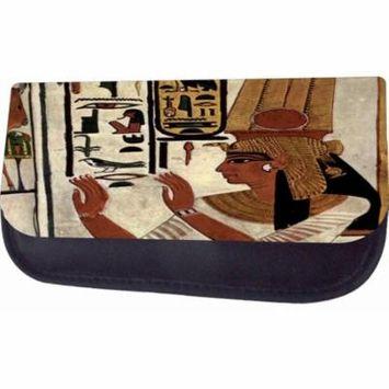 Egyptian Hieroglyphics Jacks Outlet TM Nylon-Lined Cosmetic Case