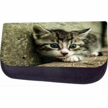 Shy Kitty Jacks Outlet TM Nylon-Lined Cosmetic Case