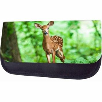 Deer Jacks Outlet TM Nylon-Lined Cosmetic Case