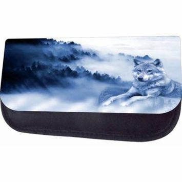 Mountain Wolf Jacks Outlet TM Nylon-Lined Cosmetic Case