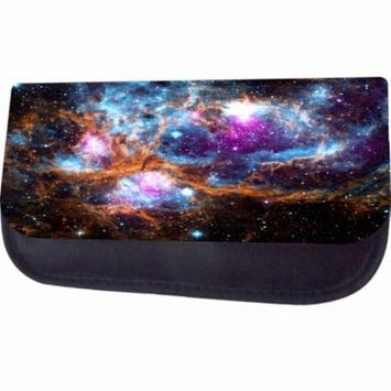 Galaxy Nebula Jacks Outlet TM Nylon-Lined Cosmetic Case