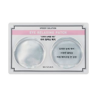 Missha - Speedy Solution Eye Relaxing Patch 1pair