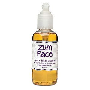 Zum Face Gentle Facial Cleanser Lemon and Geranium 4 fl oz