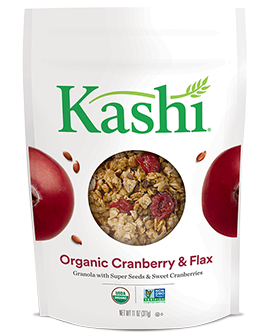 Kashi® Organic Promise Cranberry, Spelt And Flax Granola