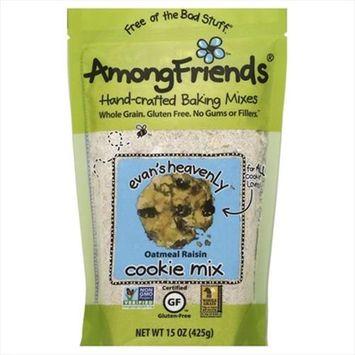 Among Friends 15 oz. Evans Heavenly Spelt Oatmeal Raisin Cookie Mix Case Of 6