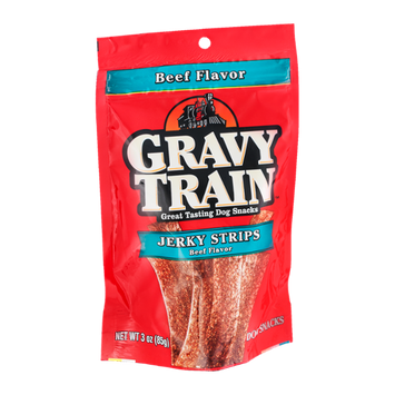 Gravy Train Jerky Strips Beef Flavor Dog Snacks