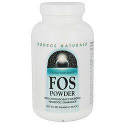 Source Naturals - FOS Powder Fructooligosaccharides Probiotic Enhancer - 200 Grams