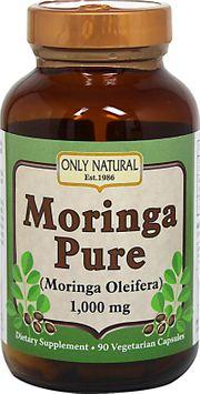 Only Natural - Moringa Pure 1000 mg. - 90 Vegetarian Capsules
