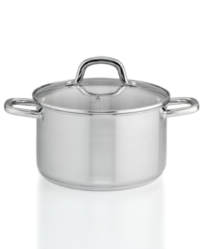 Martha Stewart Collection Stainless Steel 5 Qt. Covered Chili Pot