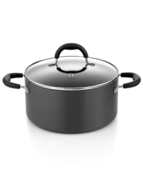 Martha Stewart Collection Hard Anodized 5.5 Qt. Covered Chili Pot