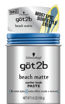 göt2b® Beach Matte® Surfer Look Paste