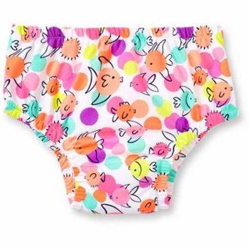 Newborn Baby Girls Reusable Swim Diaper
