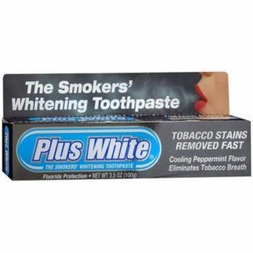 4 Pack - Plus White Smokers' Whitening Toothpaste 3.50 oz