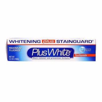 Plus White Maximum Fluoride Toothpaste, Cool And Crisp Mint Flavor, 3.5 Oz, 6 Pack