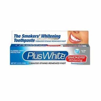 Plus White® The Smokers Whitening Toothpaste Smoker's, 3.5 oz. Tube (Pack of 2)