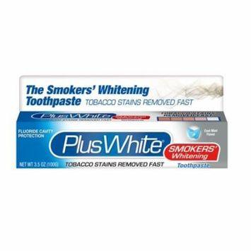 4 Pack Plus White Smokers' Whitening Toothpaste 3.50 oz each
