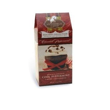 The Invisible Chef Chocolate Peppermint Muffin, 16-Ounce Packages (Pack of 6)