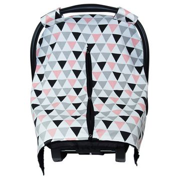 JLIKA car seat canopy cover - Abstract Triangles