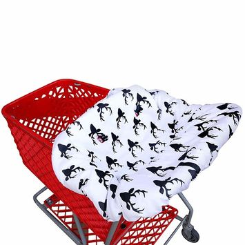 Shopping cart Covers for Baby   High Chair and Grocery Cover for Babies   Infants  Toddlers Trolley Seat for Boys and Girls
