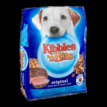 Kibbles n Bits Original Savory Beef & Chicken Flavor Dog Food