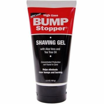 3 Pack - High Time Bump Stopper Shave Gel W/Aloe & Tea Tree Oil 5.3 oz