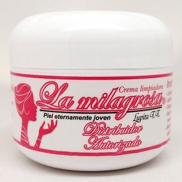 Crema La Milagrosa - Compuesta por una mezcla de elementos 100% Naturales que limpian y sanan tu piel para que luzcas mas joven y tengas piel bella - Desde Mazatlan Sinaloa