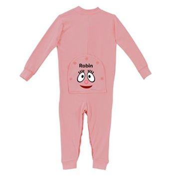 Personalized Yo Gabba Gabba! Foofa Pink Toddler Girl Long Johns