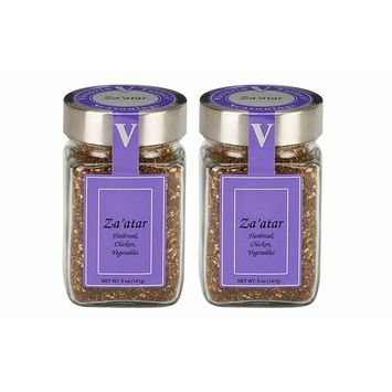 Za'atar - 2 Pack - Middle Eastern seasoing blend.Use on flatbread, yogurt, hummus, chicken, and vegetables. VICTORIA TAYLOR'S BY VICTORIA GOURMET. [Za'atar]