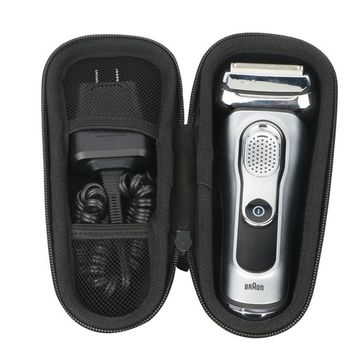 Khanka Hard Case Carrying Travel Bag for Braun Series 5 5040 5050cc S5420/06 S5320/06 Men's Electric Foil Shaver Wet and Dry Rechargeable and Cordless Razor