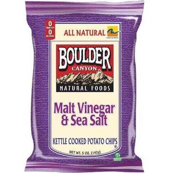 Boulder Canyon Potato Chips 6.5oz Pack of 12