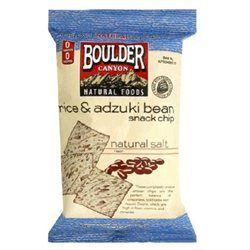 Boulder Canyon Rice & Bean Snack Chips with Adzuki Beans Natural Salt - 5 oz